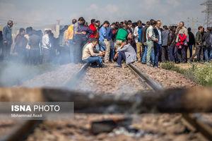 عکس/اعتصاب سراسری کارگران هپکو