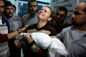 فیلم/ ادامه کشتار فلسطینیها در نوار غزه