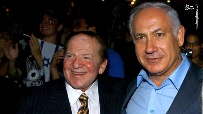 ادلسون اسپانسر اصلی بنیامین نتیاهو در آخرین انتخابات رژیم صهیونیستی بود.