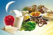 تغذیه در ماه رمضان