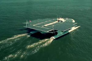 فیلم/ بزرگترین قایق خورشیدی جهان