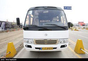 تحویل ۵۰۰ دستگاه مینی بوس ساخت ایران