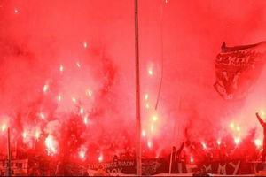 فیلم/ آتش سوزی در استادیوم فوتبال!
