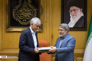 ابلاغ رسمی حکم شهردار تهران