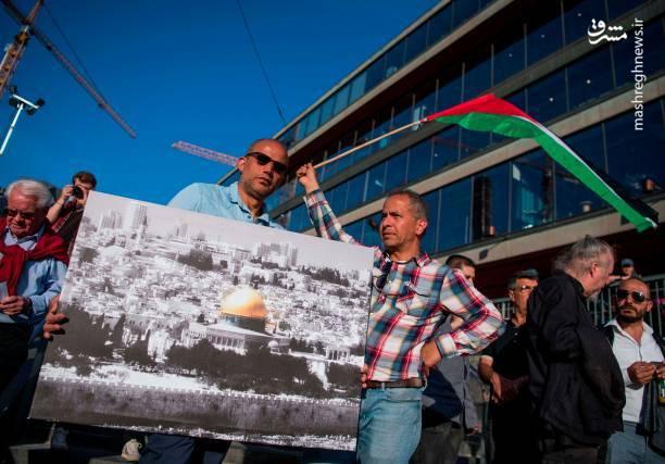 موج اعتراضات ضداسرائیلی به سوئد رسید