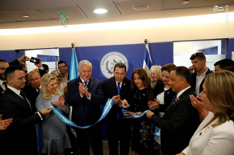 دولت گواتمالا امروز (چهارشنبه) طی مراسمی رسما از جابجایی سفارتخانه خود از تلآویو و افتتاح آن در قدس غربی خبر داد.