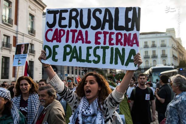 تظاهرات گسترده در اسپانیا