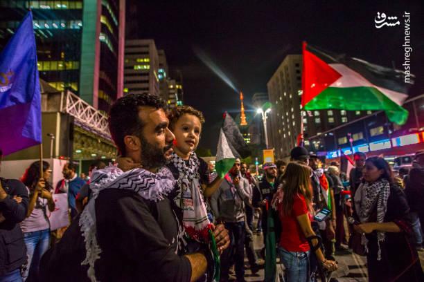 تظاهرات ضد صهیونیستی در برزیل