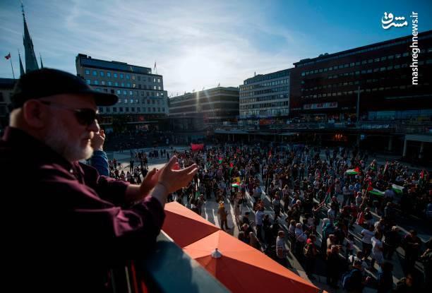 خشم تهرانیها از کشتار مردم فلسطین