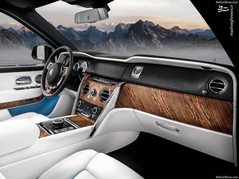 تجهیز صندلی راننده به سیستم های سرمایشی و گرمایشی یکی از مواردیست که رولزرویس بواسطه آنها سعی کرده تجربه ای لذت بخش از سفرها برای راننده فراهم کند.
