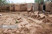تخریب روستای هرشی بر اثر سیل