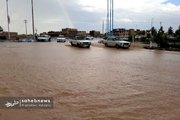 بارش باران بهاری در ورزنه اصفهان