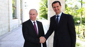 عکس/ دیدار بشار اسد با پوتین در سوچی