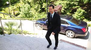 دیدار ولادیمیر پوتین با بشار اسد در سوچی