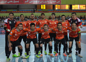 حریفان مس در جام باشگاههای فوتسال آسیا