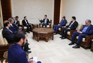 عکس/ دیدار آخوندی با بشار اسد