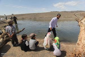 عکس/ اردوی جهادی در مناطق محروم نهبندان