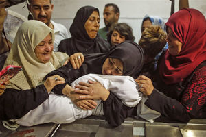 پمپئو در پیونگیانگ/ اعتراض و عزا در فلسطین/ افطار استانبولی+ تصاویر