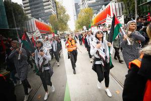 عکس/ تظاهرات ضداسرائیلی در استرالیا