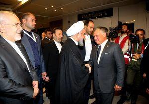 دیدار سران ایران و اردن پس از ۱۵ سال + عکس