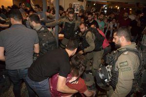 فیلم/ تظاهرات فلسطینیان در شهر حساس «حیفا»