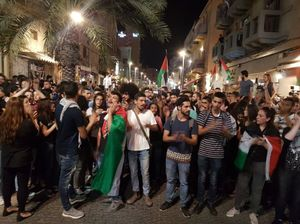 اولین تصاویر از خروش فلسطینیان در شهر «حیفا»