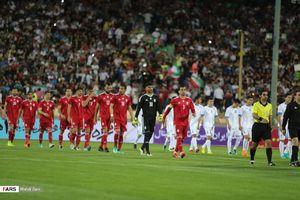 نیمه نخست دیدار تیم ملی ایران مقابل ازبکستان