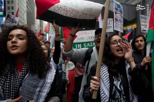 ادامه تظاهرات حمایت از قدس در آمریکا