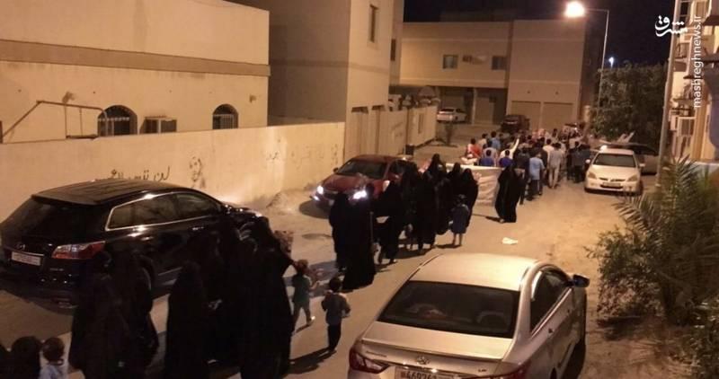 نیروهای امنیتی بحرین در مناطقی از جمله المعامیر با شلیک مفرط گازهای اشک آور و تعقیب جوانان با اسلحه ساچمه ای تظاهرات ها را بشدت سرکوب کردند.