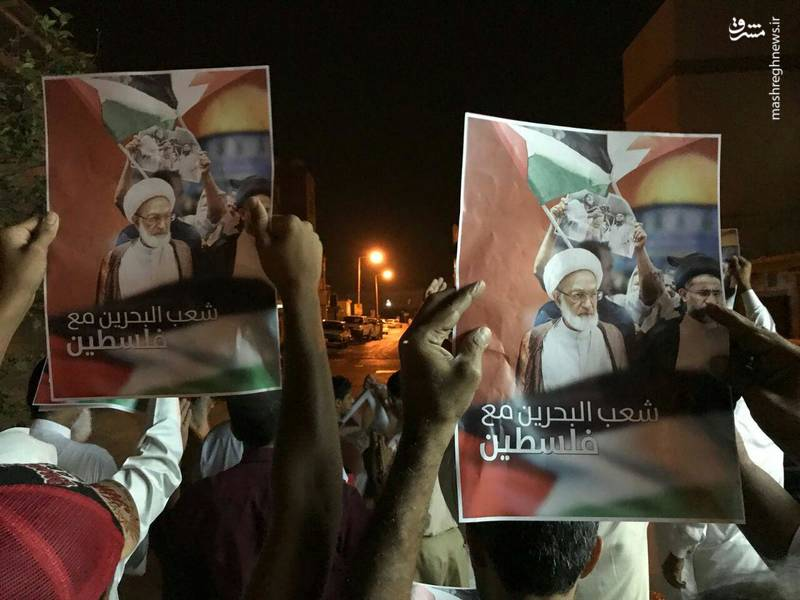 جوانان بحرینی در منطقه الجفیر در دو روز متوالی خیابانهای منتهی به پایگاه نظامی آمریکا در بحرین را به آتش کشیده و با ایجاد موانعی آنها را مسدود کردند.