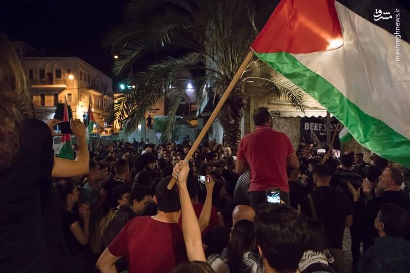 شاهدان عینی اعلام کردند که صهیونیستها در درگیری با فلسطینیان ۲۵ نفر از آنها را بازداشت کردند.