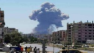 موقوع سه انفجار مهیب در «عفرین» سوریه +عکس