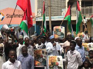 عکس/ تظاهرات گسترده حامیان شیخ زکزاکی در نیجریه