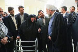 عکس/ دیدار روحانی با جمعی از زنان، جوانان و دانشجویان