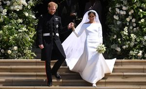 جای خالی بیخانمانهای انگلیس در عروسی شاهزاده «هری» +عکس و فیلم