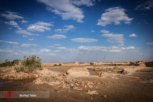 عکس/ خسارات سیل در زیرکوه