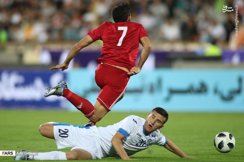 نیمه دوم ایران و ازبکستان