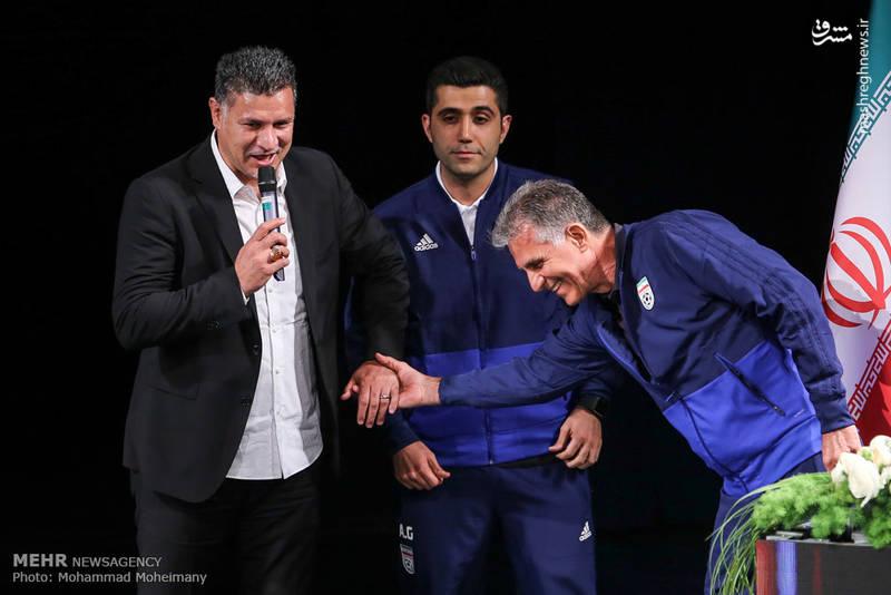 آیین بدرقه تیم ملی فوتبال به جام جهانی
