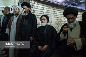 عکس/ چهرهها در بزرگداشت مرحوم حجت الاسلام طباطبایی