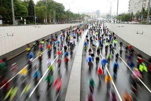 عکس/ روز دوچرخه سواری در روسیه