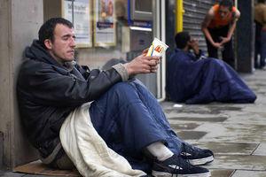 بیخانمان نمایه در انگلیس