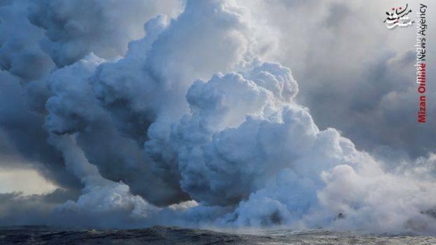 هشدار نشت گازهای سمی در هاوایی