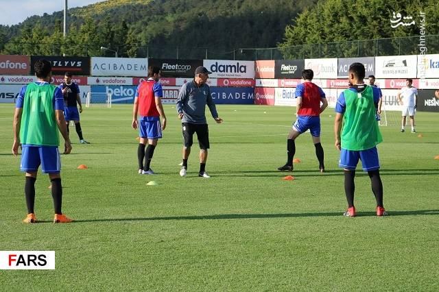 اولین تمرین تیم ملی در استانبول