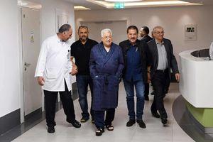 عکس/ «محمود عباس» در بیمارستان