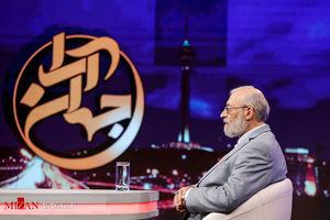 فیلم/ حضور محمدجواد لاریجانی در برنامه جهان آرا