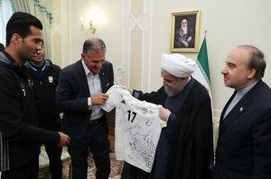 دعوت فیفا از روحانی برای افتتاحیه جام جهانی +عکس