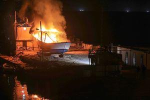 عکس/ صهیونیستها به قایقها هم رحم نکردند