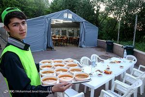 عکس/ سفره افطار اوکراینیها در رمضان