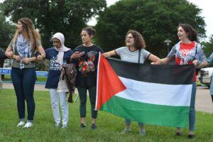 وحشت نیکی هیلی از اعتراض حامیان فلسطین