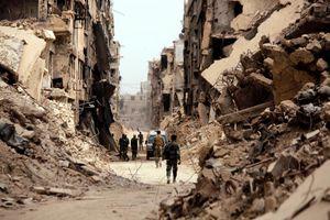"""عکس/ بلایی که تروریستها سر """"یرموک"""" آوردند"""